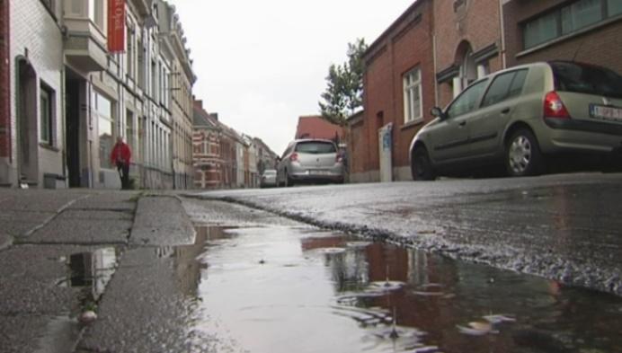Molenstraatbewoners willen oplossing voor wateroverlast