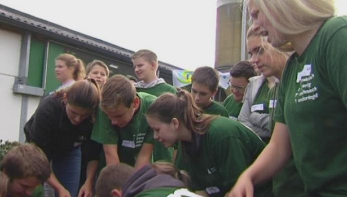 200 landbouwleerlingen ontdekken nieuwe innovaties Hooibeekhoeve