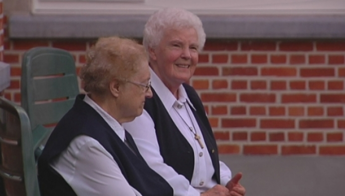 Laatste zusters vertrekken in Herentals