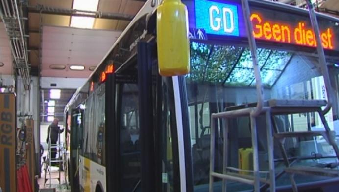 Bus De Lijn beschoten met loodjesgeweer
