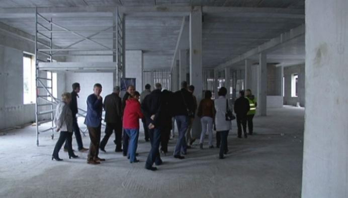 Huisdokters nemen kijkje in ruwbouw AZ Zint-Maarten