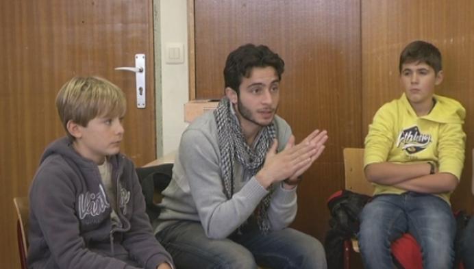 Wat als we eens les kregen van een vluchteling?