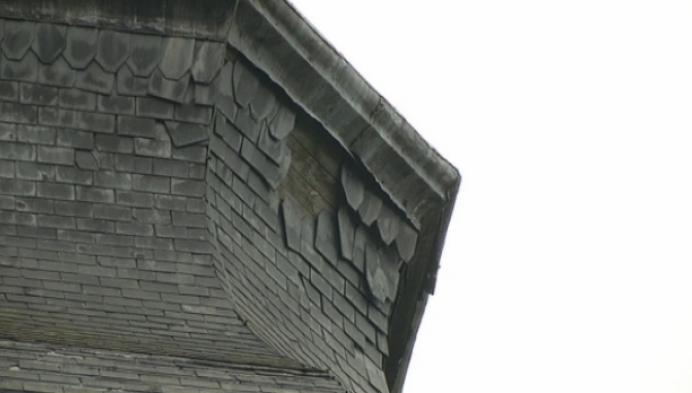 Veiligheidsnet rond toren Sint-Trudokerk