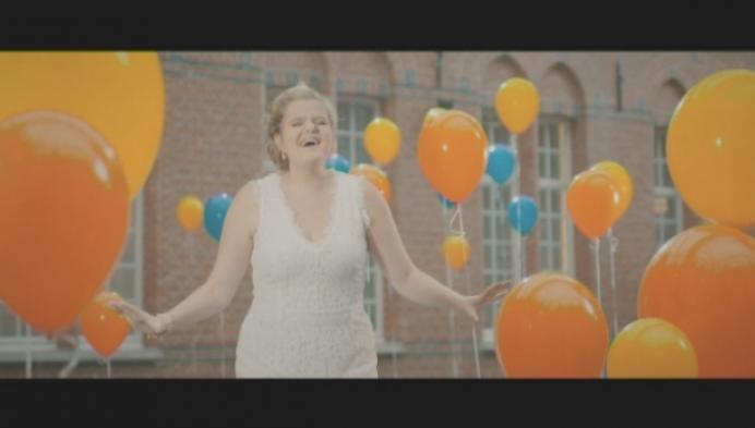 Celien Deloof zingt campagnelied voor Wereld Diabetes Dag