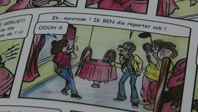 Striptekenares uit Heultje geeft grootouders gastrol
