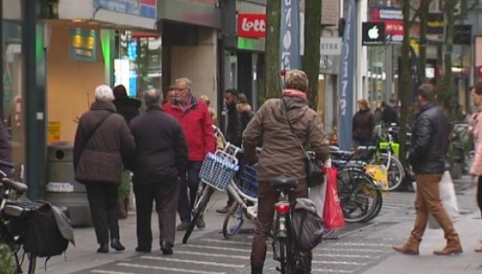 Rustige start van de koopjes in Turnhout