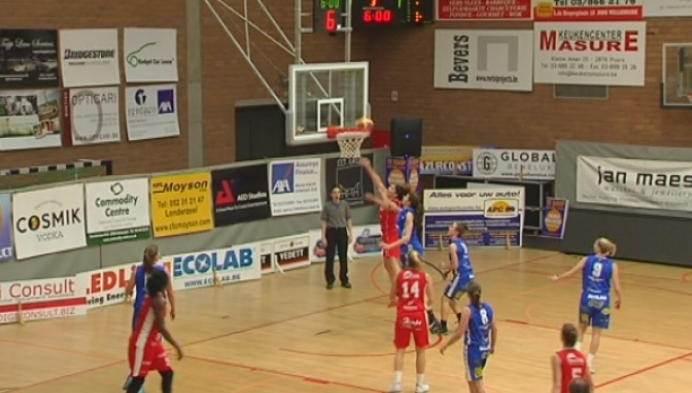 Vrouwenbasketbal Kangoeroes Willebroek-Waregem