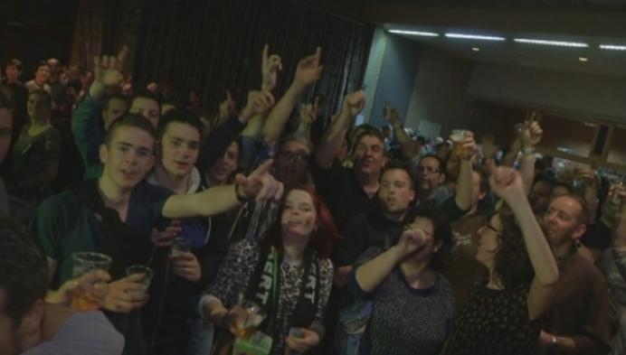Lille is helemaal gek van wereldkampioen Van Aert