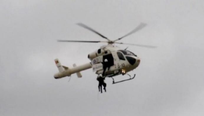 Politie krijgt voortaan vaker steun van helikopter