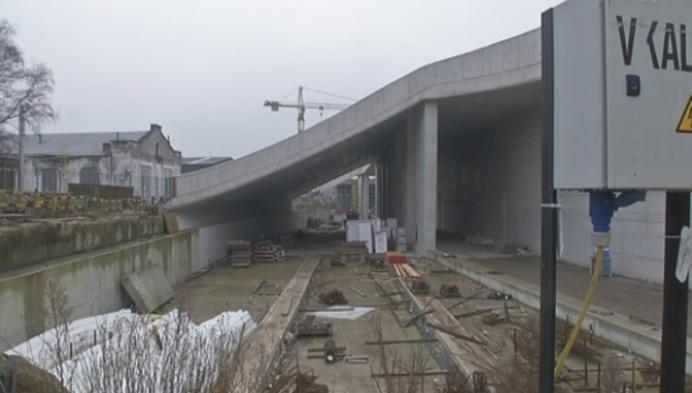 Funderingen stationswerf Mechelen zijn klaar