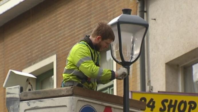 Nieuwe LED-lampen op Lierse Kolveniersvest