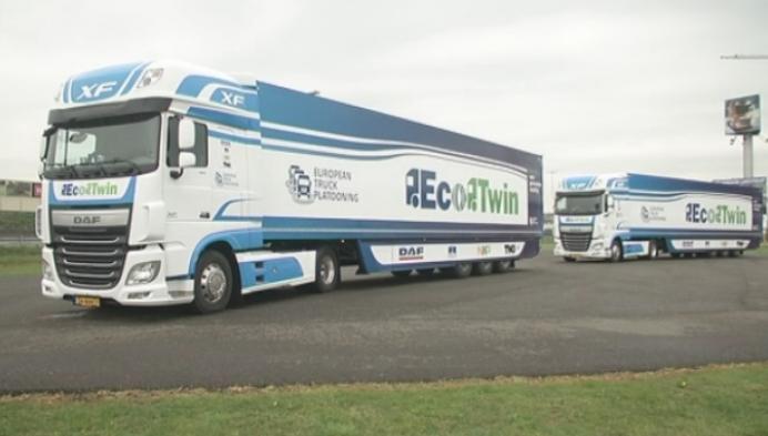 DAF Trucks test 'zelfrijdende' vrachtwagens
