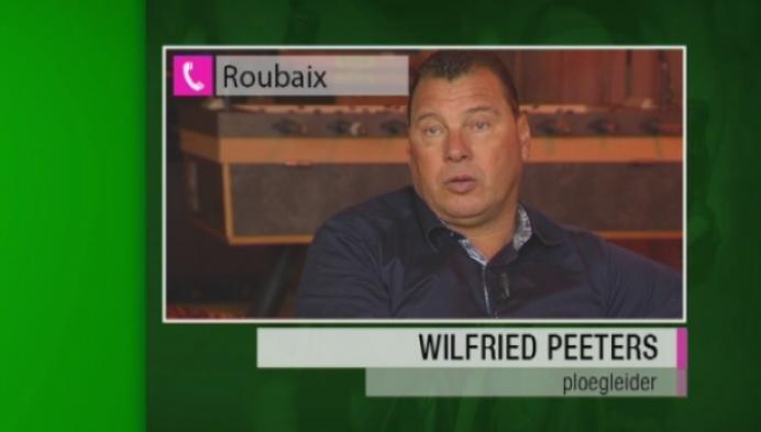 Boonen wordt tweede in Parijs-Roubaix