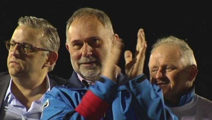 (Ex-)spelers nemen afscheid van Cis Bosschaerts
