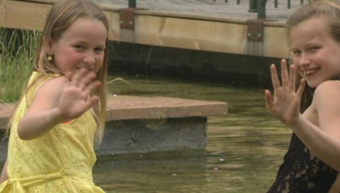 9-jarige vriendinnetjes zetten eigen benefiet op poten