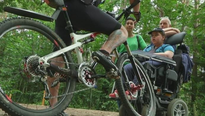 700 km mountainbiken voor jongen met spierziekte uit Vorselaar
