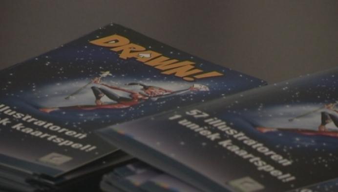Balenaar lanceert eigen stripkaartspel in museum van de speelkaart