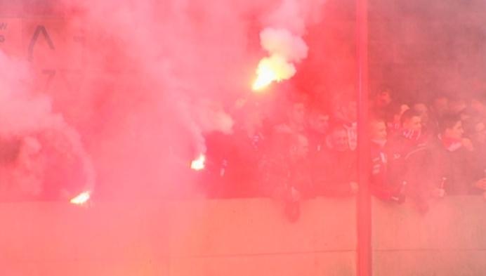 Veel sfeer in derby tussen Vrij en Verbroedering Arendonk