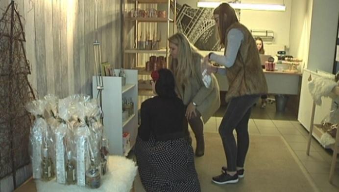 Herentalse leerlingen openen Pop-Up kerststore