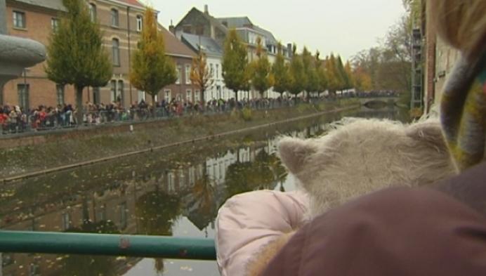 Sinterklaas en echte 'zwarte' Pieten aangekomen in Lier