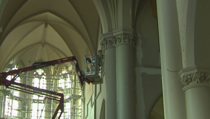 Restauratie kerk Herenthout duurt 3 maanden langer