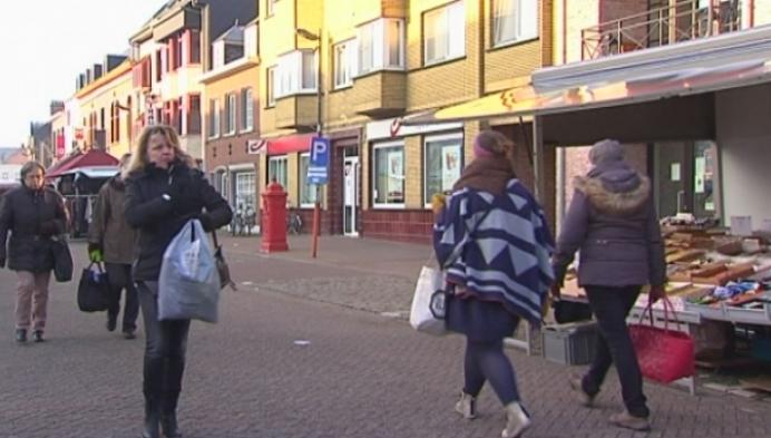 Wekelijkse markt Westerlo kreunt onder koudegolf