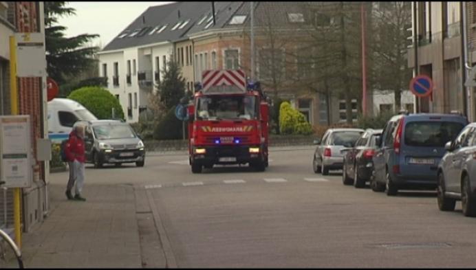 Bewoners steekt appartement in brand in Herentals