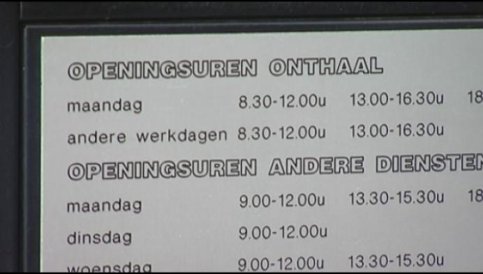 Stadhuis Hoogstraten ook open op zaterdag?