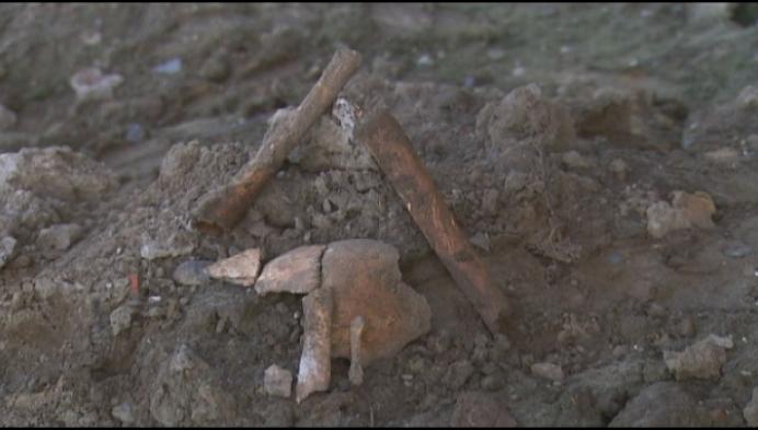 Menselijke resten gevonden aan kerk in Itegem