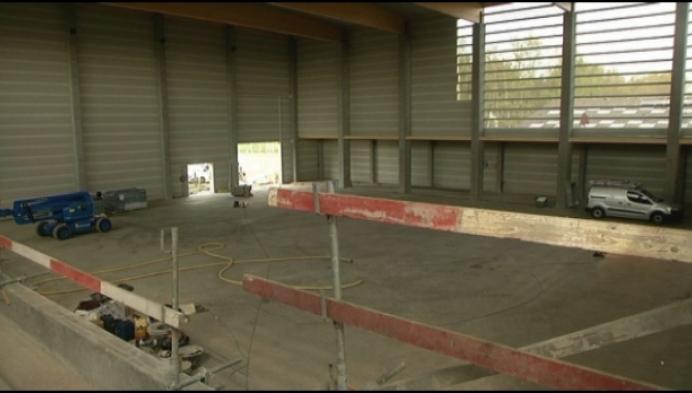 Bouw sporthal Balsakker Lille op schema
