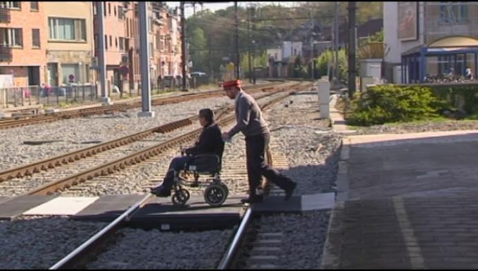 Liers station toegankelijker voor rolstoelgebruikers