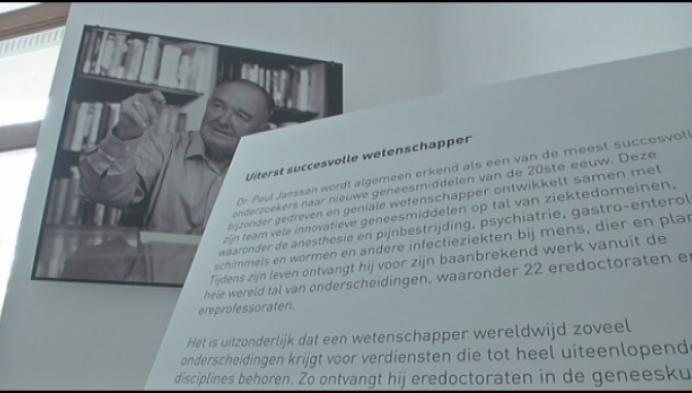 Beerse zet Dr. Paul Janssen in de kijker tijdens Erfgoeddag