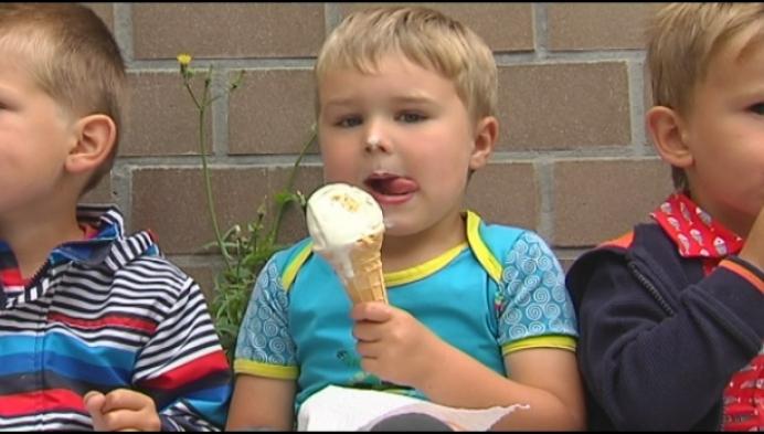 Laatste schooldag... met een ijsje!