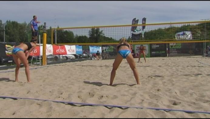 Beachvolleybal zomer 2017 nadert ontknoping in Aalst