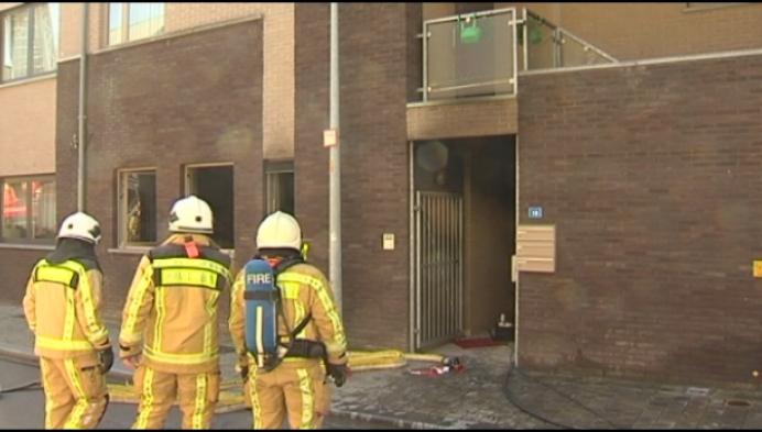 Brand vernielt appartement