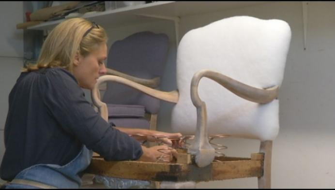 Stoffeerhuis in Geel krijgt Handmade in Belgium label