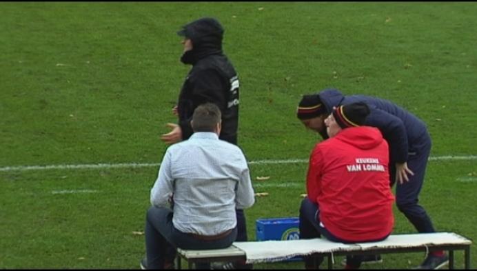 Oosterzonen schuift uit op het veld van Berchem Sport
