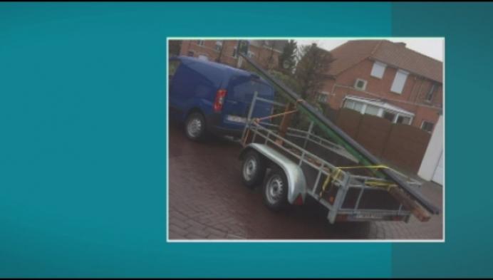 Dieven stelen aanhangwagen van Herentalsenaar