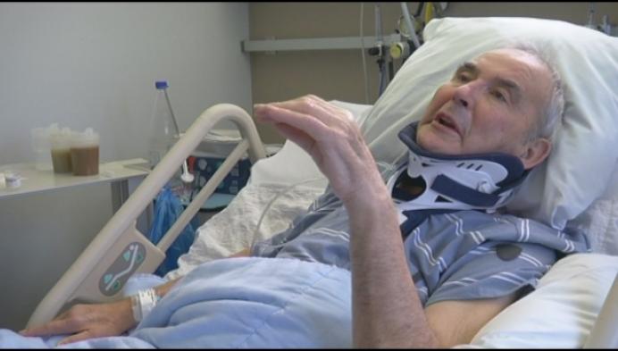 Suske Verhaegen is na zware val aan de beterhand