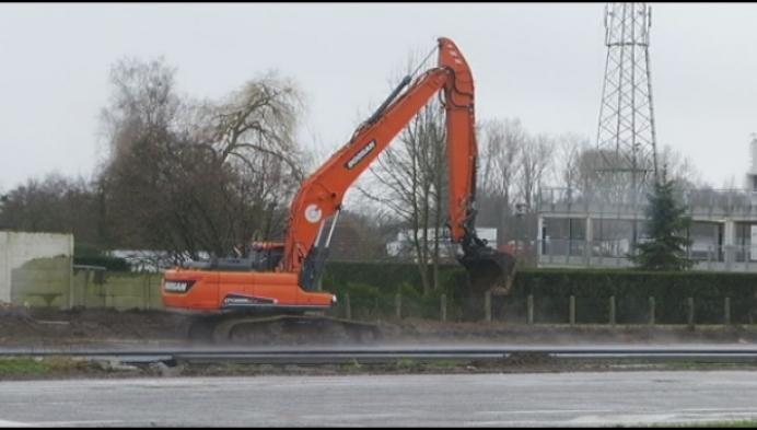 Werken kruispunt R6-Liersesteenweg opnieuw gestart