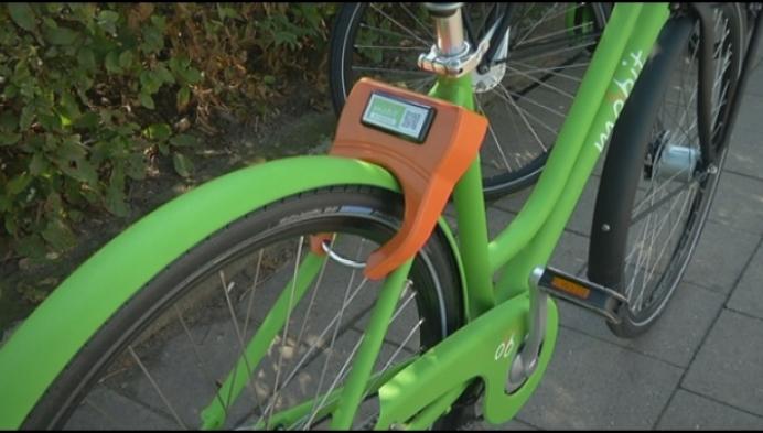 Mobit-fietsen blijven achter in deelgemeenten