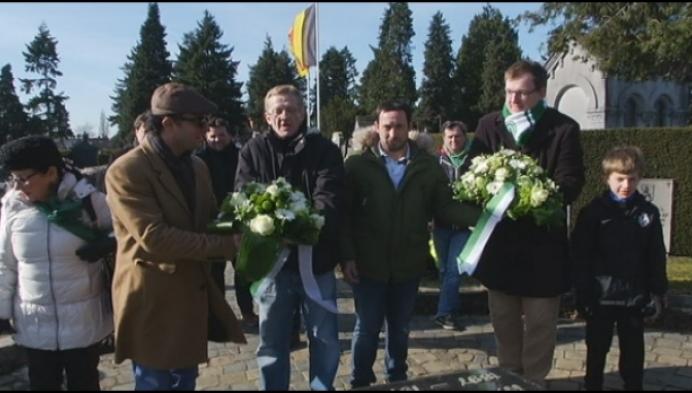 Racing Mechelen herdenkt oprichter Oscar Van Kesbeeck