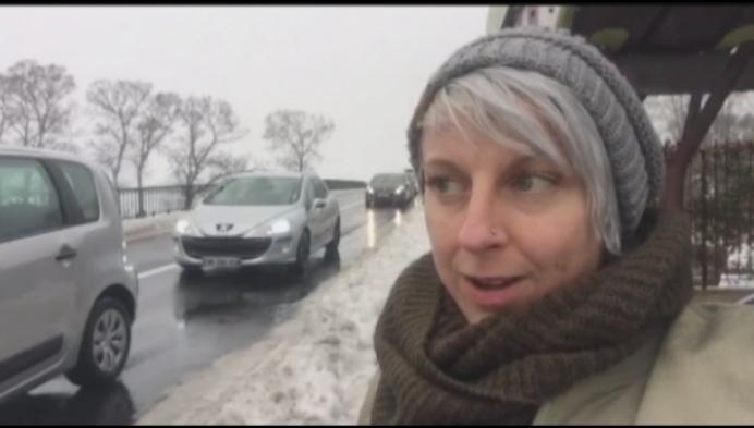 Kempens koppel vast in sneeuwellende Zuid-Frankrijk