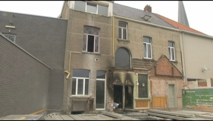 Brand in voormalige dokterswoning op Markt