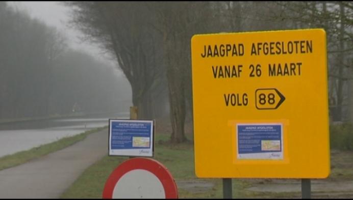 Jaagpad tussen Beerse en Turnhout lange tijd afgesloten