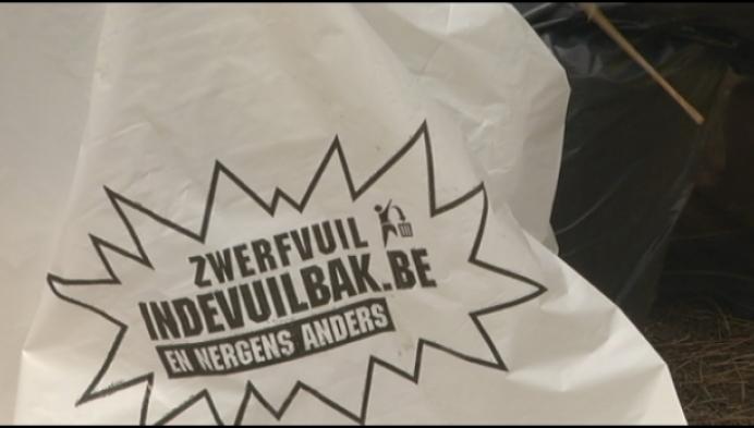 Sluikstorter dumpt bijna 130 kilogram afval
