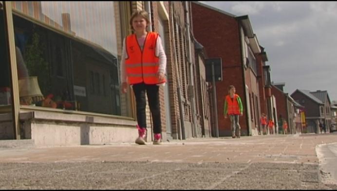 Leerlingen Sint Amands leggen voetgangersexamen af