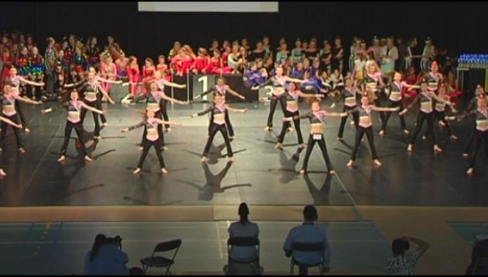 Honderden dansers geven het beste van zichzelf tijdens BK in Herentals