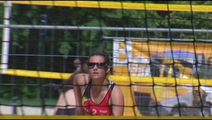 Beachvolleybalster Van den Vonder droomt van de Olympische Spelen