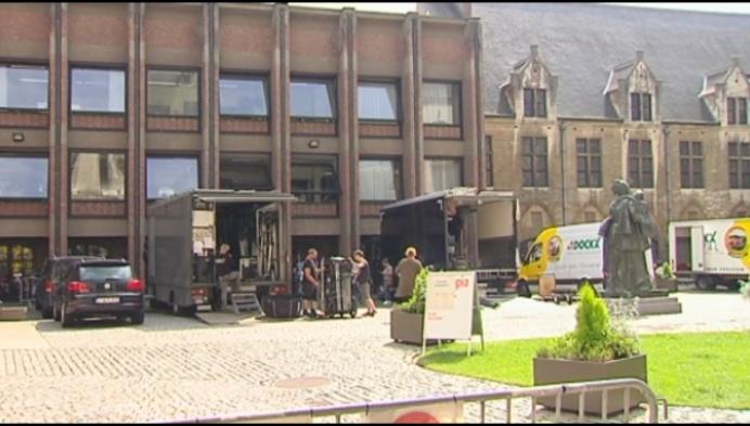 Opnames Collega's 2.0 van start in het Mechelse stadhuis